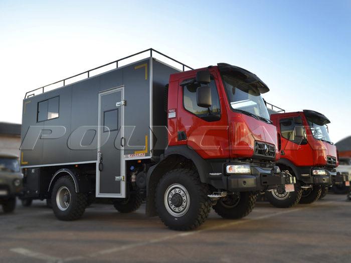 Мобильная мастерская Renault D12.