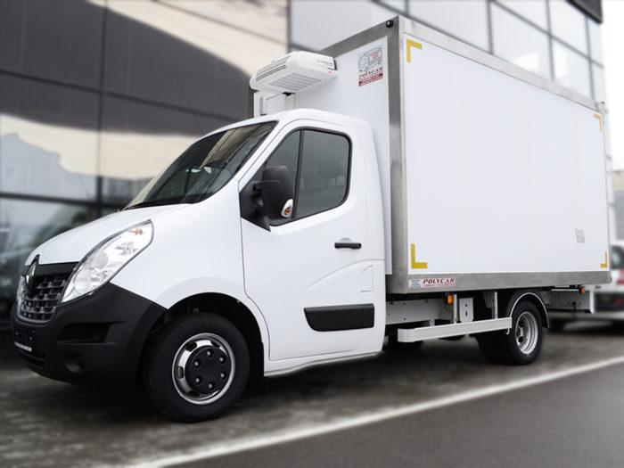 Рефрижераторный фургон Polycar с холодильным оборудование на Renault Master.