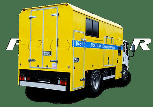 Аварийно-восстановительные и аварийно-ремонтные машины производства Polycar.