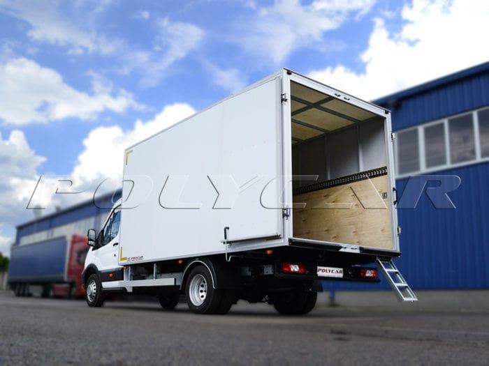 Производство промтоварного фургона на базе Форд Транзит.