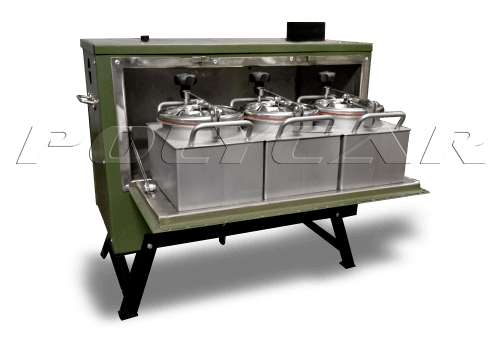 Полевая переносная кухня МК-10 производства Polycar.