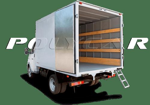 Промтоварные фургоны поликар вариант эконом.