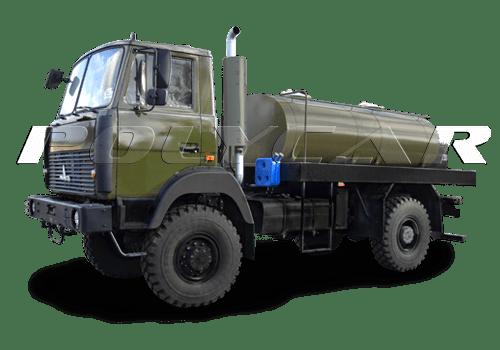 Военная цистерна для перевозки пищевых и технических жидкостей.