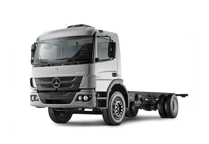 Mercedes Benz Atego купить новый грузовик в Украине.