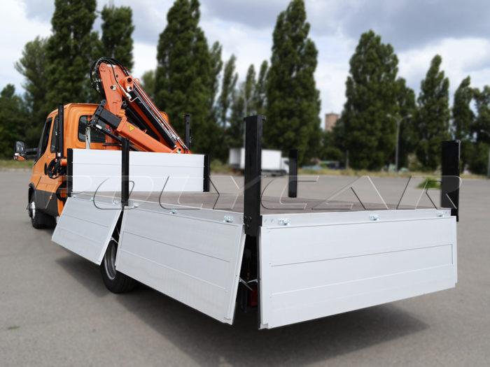 Бортовая платформа производства Polycar.