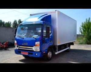 Промтоварный фургон на базе Jac N75