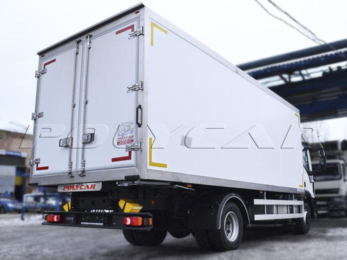 Рефрижераторный фургон Polycar на Ивеко Еврокарго.
