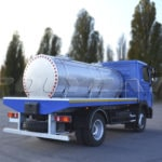 Цистерна для молока на МАЗ 4371N2.