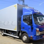 Промтоварный фургон на Jac N75.