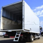 Производство промтоварного фургона на базе Jac N75.