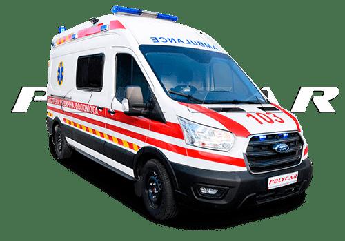 Медикам нужны надежные машины - автомобили скорой помощи Polycar.