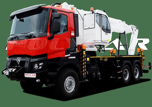 Автовышка Paksan KTF 325 на Renault Trucks.