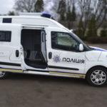 Автодля перевозки заключенных на базе Fiat Doblo.