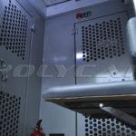 Камеры заключенных в автозаке на базе Fiat Doblo.