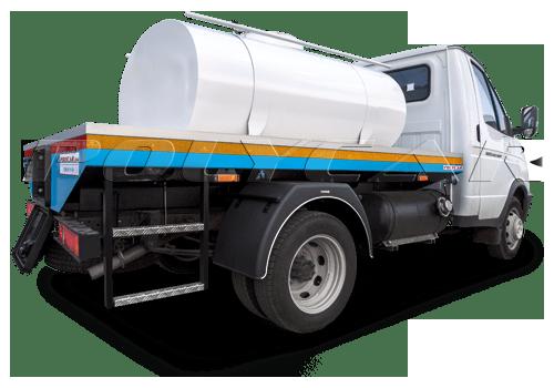 Молоковозы стандарт производства Polycar.