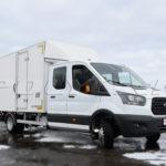 Промтоварный фургон на Ford Transit.