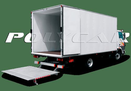 Изотермический фургон с гидробортом.