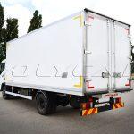Изотермический фургон производства Polycar.