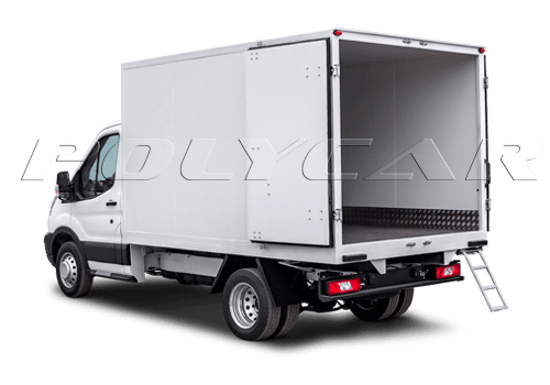 Изотермические фургоны вариант стандарт.