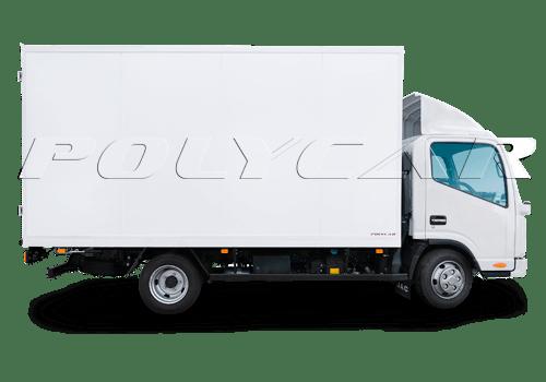 Изотермический фургон Polycar типа стандарт.