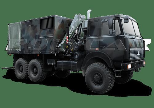 Колесный эвакуационный тягач легкий производства Polycar.