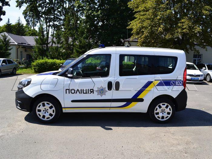 Машина кинологической службы полиции.