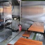 Мобильная кухня с изменяемым объемом.
