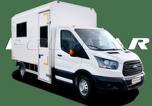 Мобильная мастерская на базе Ford Transit.