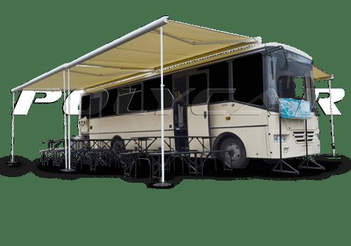 Мобильная столовая или кафе на колесах производства Polycar.