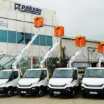 Автогидроподъемники Paksan купить и установить в Украине.