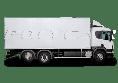 Промтоварный автофургон производства Polycar.