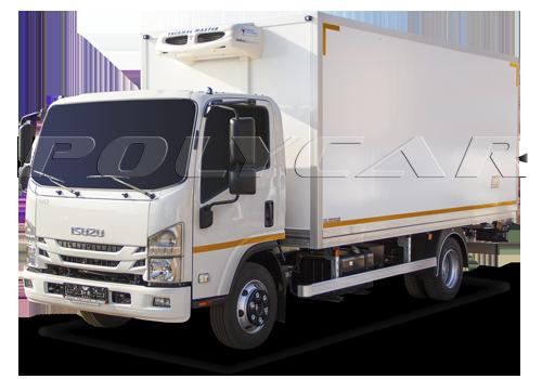 Isuzu реф с фургоном производства Polycar.