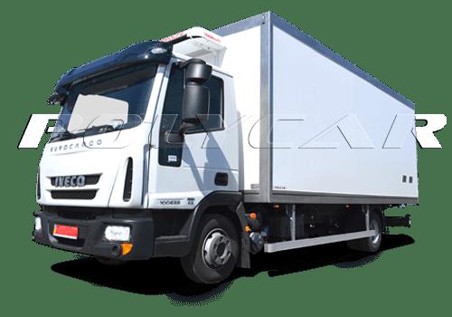 Рефрижераторные фургоны Polycar с холодильным оборудованием.