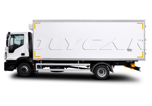 Рефрижераторный фургон на Iveco Eurocargo.