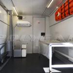 Мобильный рентген-кабинет, выполненный Polycar на базе автобуса.