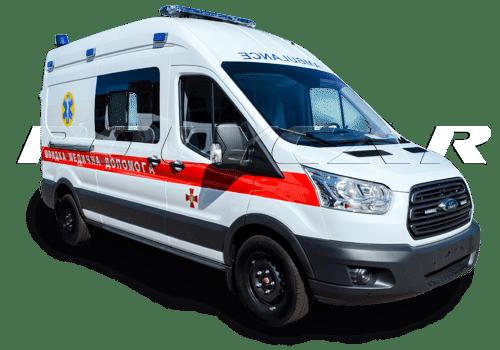 Санитарные автомобили и машины скорой помощи.