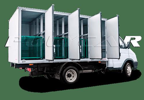 Автомобиль для перевозки собак и животных.