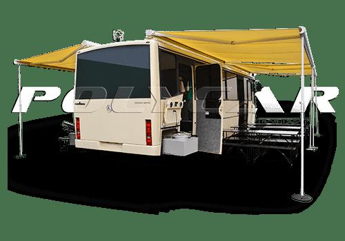 Кафе на колесах на базе автобуса.