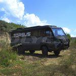 Пассажирский полноприводный автобус Torsus Praetorian.