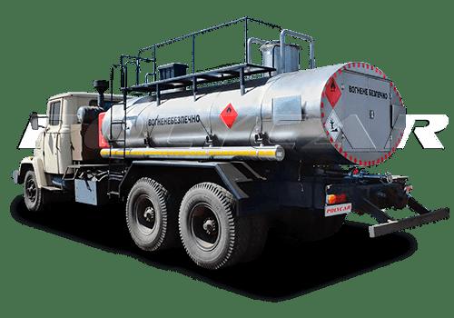 Автоцистерна для перевозки нефти на базе КРаЗ.