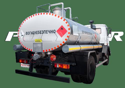 Автоцистерна для перевозхки нефти и газа производства Polycar.