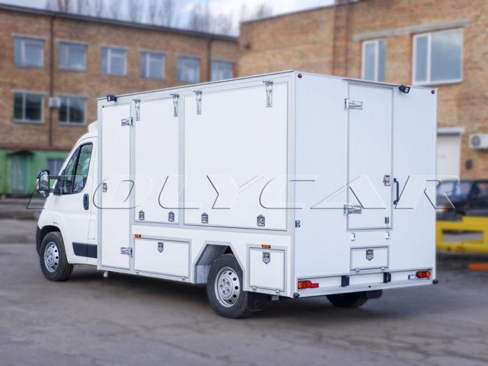 Демо фургон для выставок.