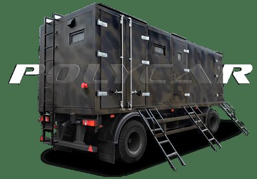 Мобильный комбинат бытового обслуживания производства Polycar.