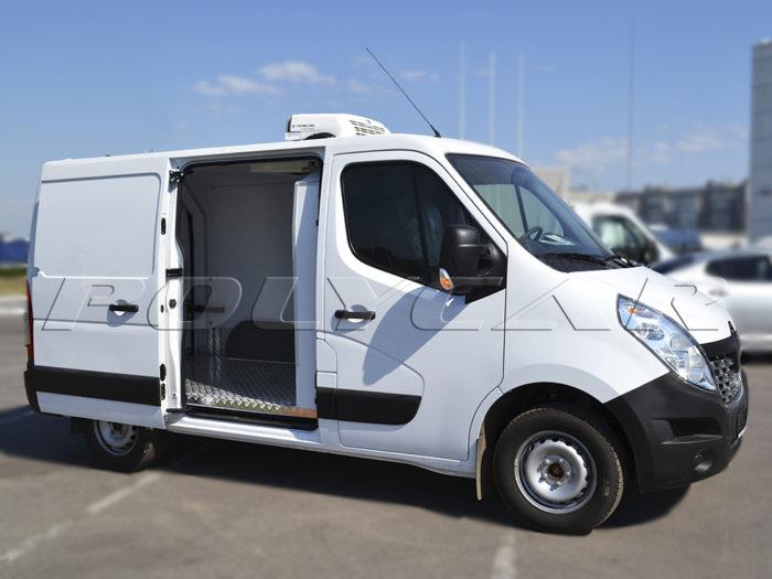 Термоизоляция цельнометаллического фургона Renault Master.