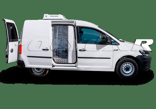 Термоизоляция кузова Volkswagen Caddy.