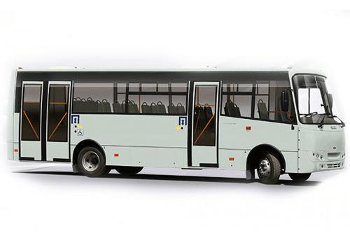 Автобус Ataman A092G6, городская маршрутка.