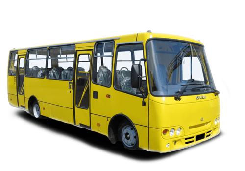 Ataman A092G9 городской автобус или маршрутка.