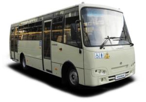 Городской автобус Ataman A092G7.