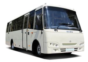 Автобус Ataman A09306 для городских пассажироперевозок.