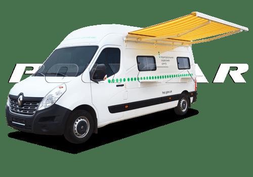 Мобильный сервисный центр на базе Renault.